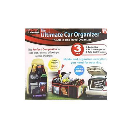 Органайзер в авто 3 в 1 Ultimate Car Organizer, фото 2