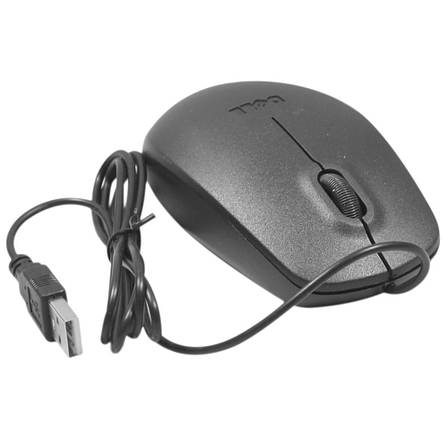 Компьютерная проводная мышь Dell MS-111, фото 2