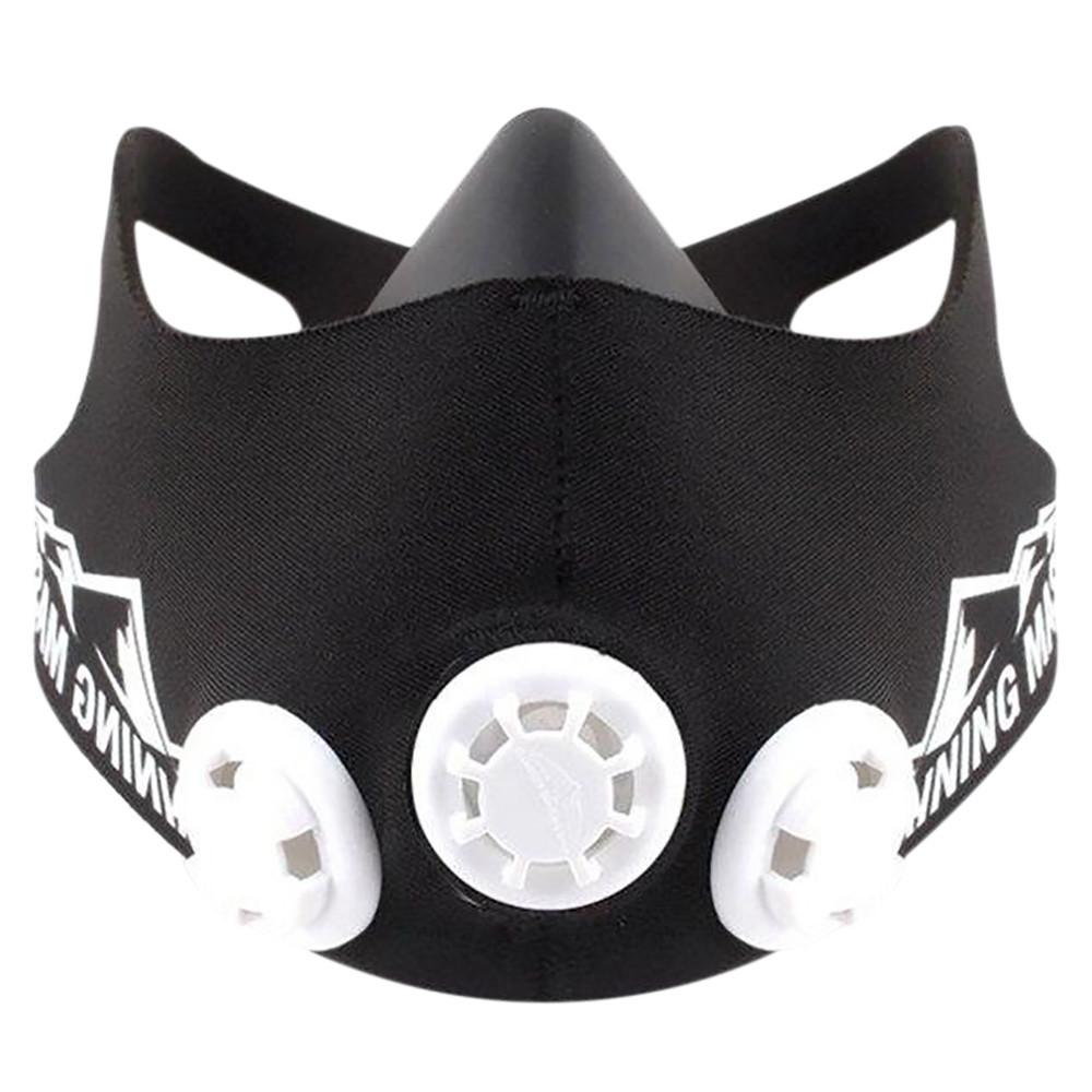Тренировочная маска Simulates Training Mask РАЗМЕР M  + ПОДАРОК: Настенный Фонарик с регулятором BL-8772A