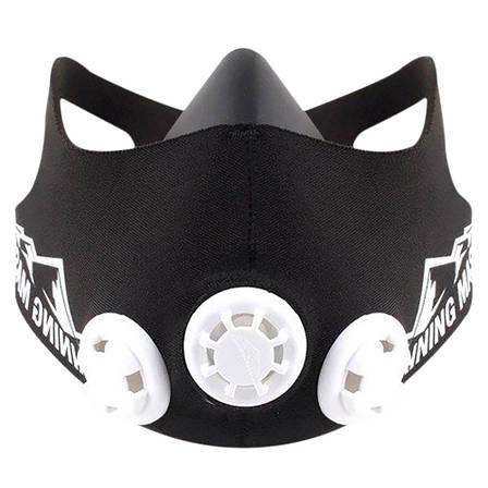 Тренировочная маска Simulates Training Mask РАЗМЕР M  + ПОДАРОК: Настенный Фонарик с регулятором BL-8772A, фото 2