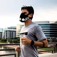 Тренировочная маска Simulates Training Mask РАЗМЕР M  + ПОДАРОК: Настенный Фонарик с регулятором BL-8772A, фото 3