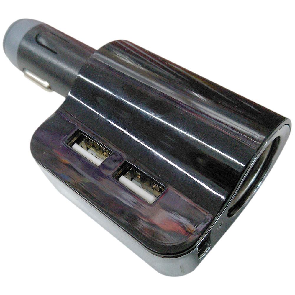 Автомобильный FM модулятор HC-3  + ПОДАРОК:Нескользящий коврик для телефона. Размер 11*9 см