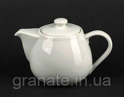 Чайник заварочный 300 мл белый фарфор
