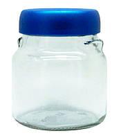 Банка для сыпучих продуктов EverGlass с пластиковой крышкой 550 мл 1555Н