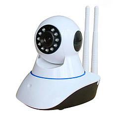 IP камера видеонаблюдения Q5 - на 2 антены  WIFI Smart NET camera Q5 + ПОДАРОК: Настенный Фонарик с, фото 2