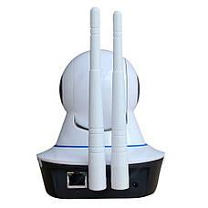 IP камера видеонаблюдения Q5 - на 2 антены  WIFI Smart NET camera Q5 + ПОДАРОК: Настенный Фонарик с, фото 3