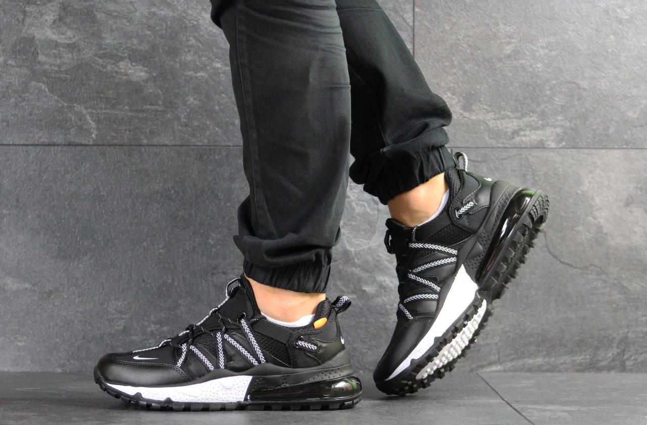 Мужские кроссовки Nike,черно-белые