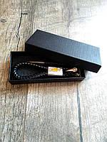 Брелок для автомобильных ключей Chevrolet кожаный для шевроле + подарункова коробка