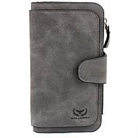 Кошелек Wallerry N2345 Тёмно-Серый