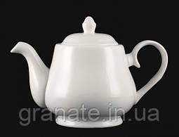 Чайник заварочный 1000 мл белый фарфор