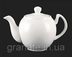 Чайник заварочный 600 мл белый фарфор