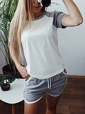 Женский летний костюм с шортами , фото 3