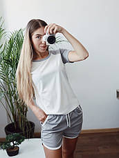 Женский летний костюм с шортами , фото 2