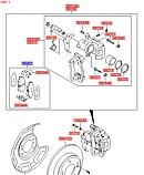 Колодки тормозные задние киа Соул 2, KIA Soul 2014-16 PS, 58302b2a10, фото 3