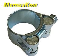Хомут силовой 32-35 сталь оцинкованная