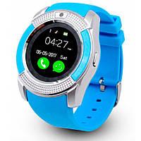 Часы наручные Smart Watch V8 BLU- СИНИЕ D1041