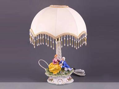 Светильник с абажуром Lefard Встреча 19.5х15.5х27 см 101-413 ночник лампа настольная