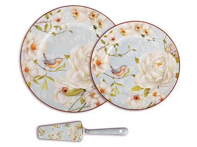 Набор для торта Lefard Райский сад 8 предметов 924-238