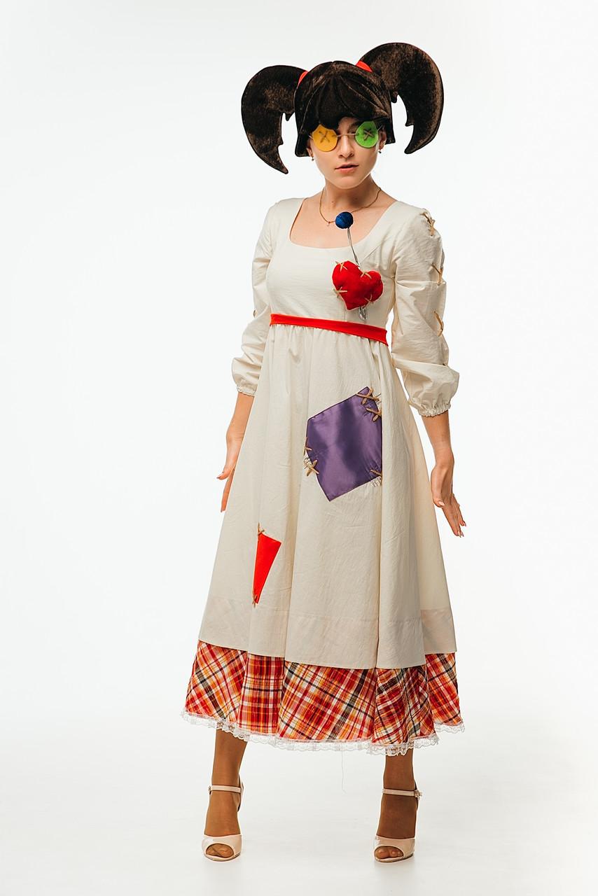 Кукла Вуду женский карнавальный костюм \ размер универсальный \ BL - ВЖ330