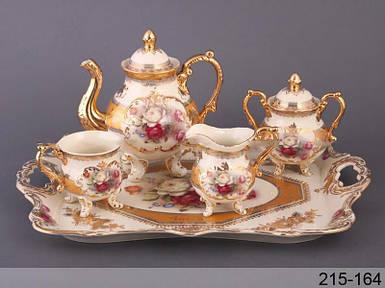 Чайный набор Lefard Букет роз на 10 предметов 215-164 набор для чая сервиз