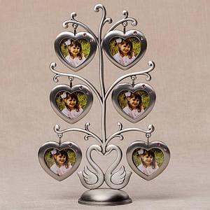 Фоторамка настольнаяLefard Семейное дерево22 см 060-6N мультирамка коллаж рамка для фото родовое