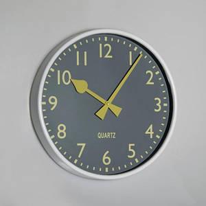 Часы настенные 30 см 010A часы на стену серые классические