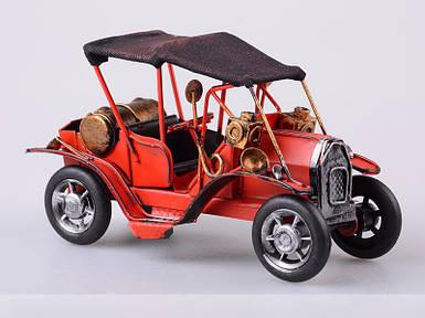 Фигурка декоративная Ретромобиль 17х7х10 см статуэтка старинный автомобиль машина