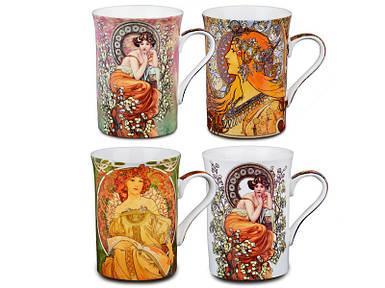 Набор коллекционных кружек Lefard Муха 4 шт  924-021 чашки комплект кружки