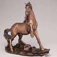 Статуэтка Veronese Конь Скакун 22 см 74486 лошадь фигурка лошади веронезе