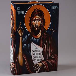 Книга-сейф Veronese Иоанн Предтеча 27х17х7 см 137U книга сейф шкатулка кэшбокс кэш бокс