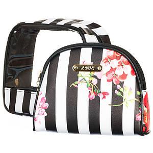 Косметичка Veronese набор 2 шт 20х17х8 см 2011LL кейс сумочка для косметики
