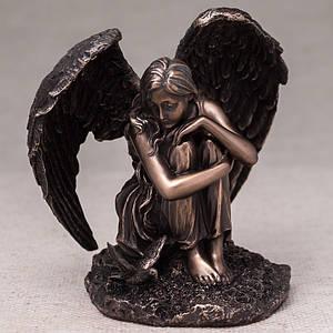Статуэтка Veronese Ангел 18 см 76364 сидящий фигурка ангела веронезе верона