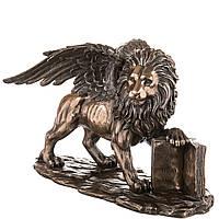 Статуэтка Veronese Лев Святого Марка высота 17см 77040 фигурка лев с крыльями веронезе