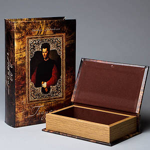 Книга-шкатулка Veronese Государь 27х18х7 см 046UE книга шкатулка кэшбокс кэш бокс