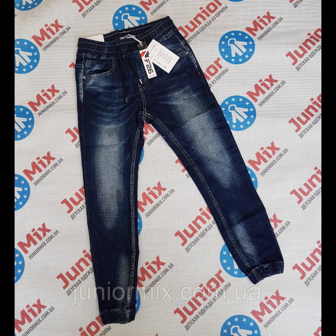 Подростковые джинсовые брюки для  мальчиков оптом F26