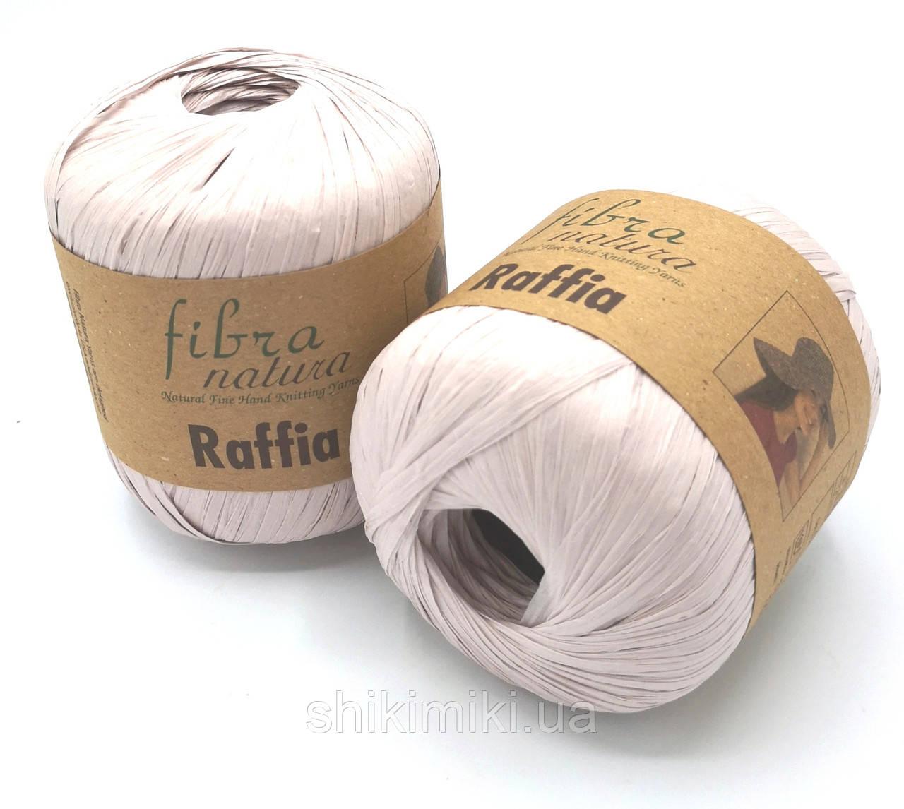 Пряжа Raffia Fibranatura, цвет Пудровый