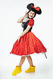 Минни Маус женский карнавальный костюм \ размер универсальный \ BL - ВЖ331, фото 3