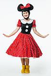 Минни Маус женский карнавальный костюм \ размер универсальный \ BL - ВЖ331, фото 4