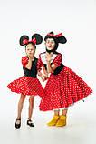 Минни Маус женский карнавальный костюм \ размер универсальный \ BL - ВЖ331, фото 6