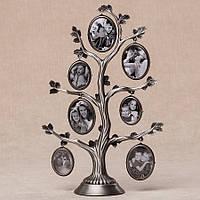 Фоторамка настольнаяLefard Семейное дерево27 см 005-07C мультирамка фото коллаж рамка для фото