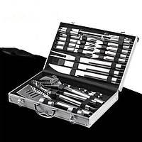 Набор для барбекю Lefard 26 предметов 236-012 приборы инструменты для барбекю в кейсе