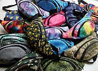 Оптовый пошив поясных сумок - бананок под заказ.  От 10 штук.