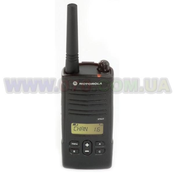 Рация Motorola XTNiD (0.5W, PMR446, 446 MHz, до 9 км, 8 каналов, АКБ), черная