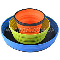 Набор складной посуды Sea to Summit X-Series (2 миски, кружка)