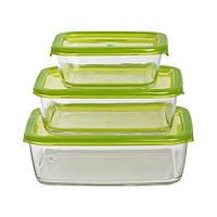 Набор контейнеров для еды Luminarc Keep'n'Box 3 предмета N0019