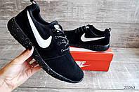 Кроссовки Nike Roshe Run Black арт.20260