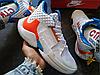 Мужские кроссовки Air Jordan Why Not 0.2 OKC Home White/Total Crimson-Tidal Blue AO6219-100, фото 5