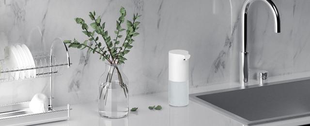 Автоматический бесконтактный дозатор для мыла диспенсер Xiaomi Mijia Automatic Induction Soap Dispenser NUN4035CN Белый