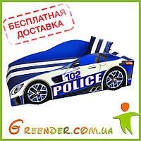 Машинки детские кровати Police Elite в 2 цветах