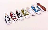 Кеды Converse OB-4634-S (размер 40-45, полиэстер, резина, черный, хаки, темно-синий, красный, голубой, белый)